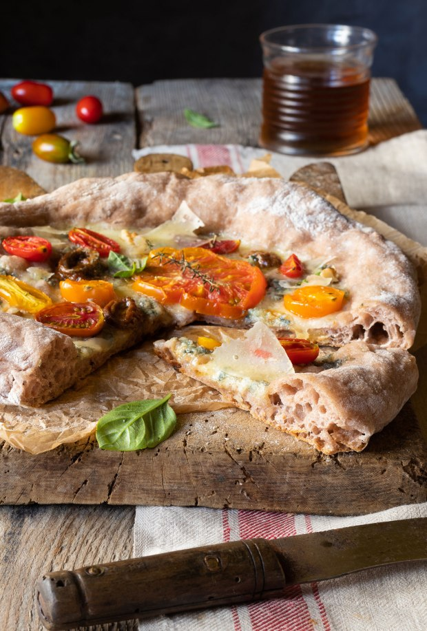 PIZZA INTEGRALE AL FARRO