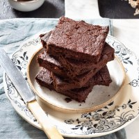 BROWNIES ALLA ZUCCA (vegan, senza zucchero e senza glutine)